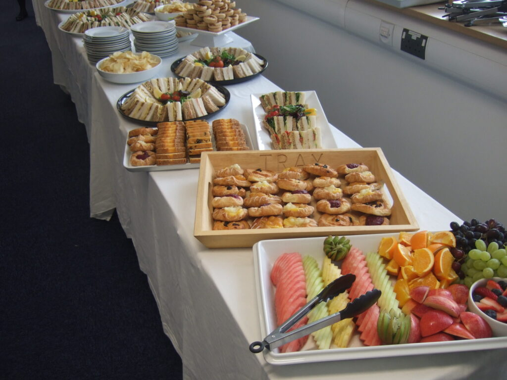Business Launch Buffet in Hayle